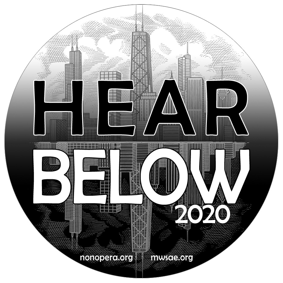 HEAR BELOW button